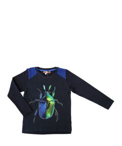 ANNE KURRIS | Beetle Printed Cotton Jersey T-Shirt