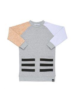 Molo | Color Blocked Cotton Sweatshirt Dress