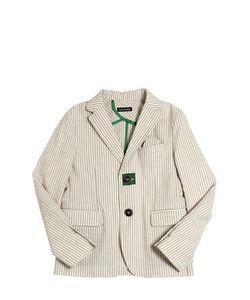 TAGLIATORE JUNIOR | Cotton Seersucker Jacket
