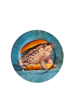 SELETTI WEARS TOILET PAPER | Toad Burger Printed Porcelain Dish