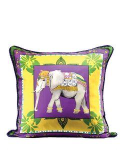 ALEXANDRA D.FOSTER | Jaipur Printed Silk Pillow