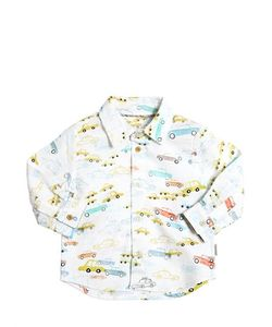 Paul Smith Junior | Cars Printed Cotton Oxford Shirt