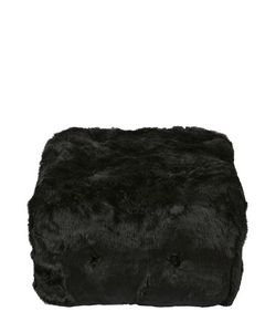 MAURIZIO GALANTE FOR OPINION CIATTI | Cat In The Box Faux Fur Pouf For Lvr