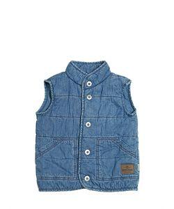 STICKY-FUDGE | Organic Cotton Chambray Vest
