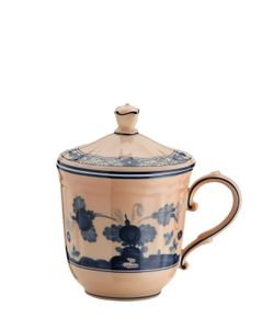 RICHARD GINORI 1735 | Oriente Italiano Mug With Lid
