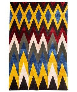 LES OTTOMANS | Fiammato Ikat Wool Rug