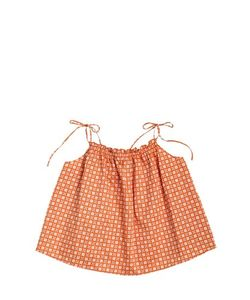 CARAMEL BABY AND CHILD   Printed Cotton Poplin Top