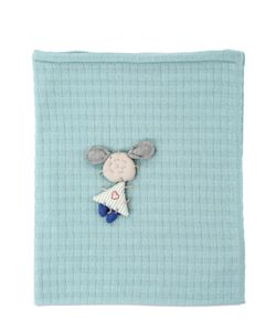 PANTUF | Hand Embroidered Cashmere Crib Blanket