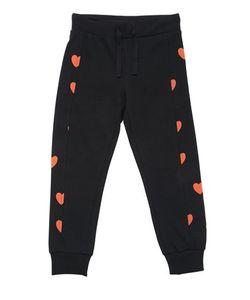 Mini Rodini   Hearts Cotton Fleece Jogging Pants