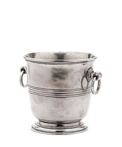ELIGO | Pewter Ice Bucket
