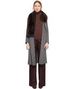 LARUSMIANI | Pekan Fur Shawl