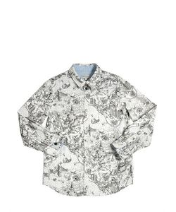 Paul Smith Junior | City Printed Oxford Cotton Shirt