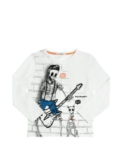 BILLYBANDIT | Skeleton Print Cotton Jersey T-Shirt