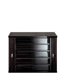AGRESTI | Glossy Ebony Wood Jewelry Box