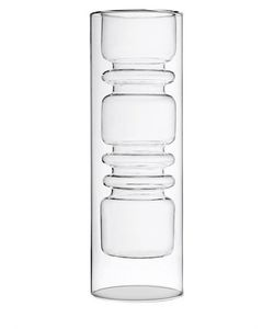 ICHENDORF | Rings Double Walled Glass Vase