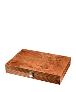 AGRESTI | Briar Elm Mahogany Backgammon Game