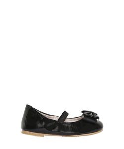 Bloch | Smooth Patent Leather Ballerina Flats