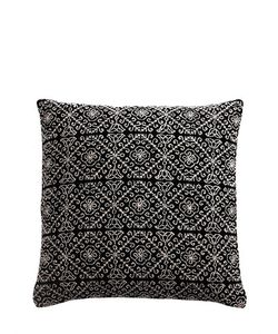 ANIZA | Nah Hand-Embroidered Feather Pillow