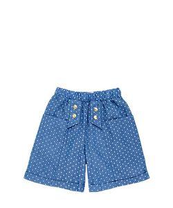 Bang Bang Copenhagen | Polka Dot Printed Cotton Blend Shorts