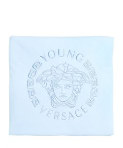Young Versace | Padded Doubled Cotton Jersey Blanket