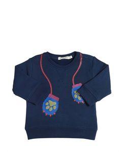 BILLYBANDIT | Paw Mittens Printed Sweatshirt
