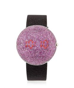 CHRISTIAN KOBAN | Clou Dinner Watch With Pink Sapphires