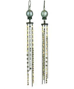 KATERINA PSOMA | Pearl Fringed Earrings