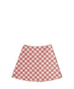 MARNI JUNIOR | Matelassé Effect Trapeze Skirt
