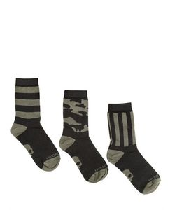 HYDROGEN KID | Set Of 3 Knitted Cotton Socks
