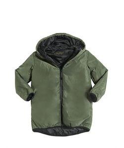 FINGER IN THE NOSE   Hooded Padded Nylon Coat