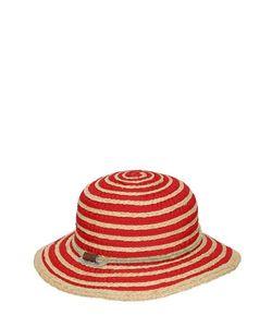 GI'N'GI | Raffia Grosgrain Wide Brim Hat