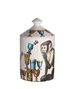 FORNASETTI | Scimmie Otto Scented Candle With Lid