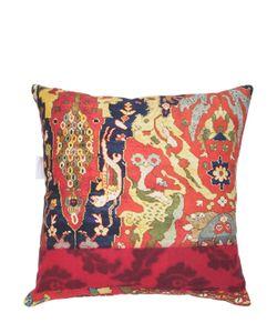 ADOLFO CARRARA | Marrakech Printed Cotton Canvas Pillow