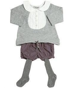 STICKY-FUDGE | Cotton Sweatshirt Shorts Tights