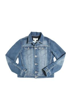 Diesel Kids | Washed Cotton Joggjeans Jacket