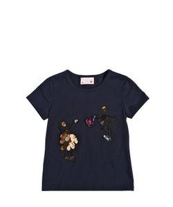 LANVIN PETITE | Swarovski Embellished Cotton T-Shirt