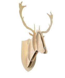 Mustache | Deer Wooden Wall Trophy