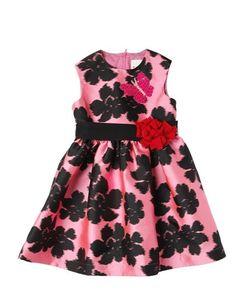 LANVIN PETITE | Floral Silk Blend Duchesse Party Dress