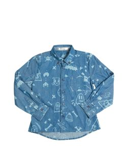 BILLYBANDIT | Printed Cotton Chambray Shirt