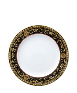 Versace | Medusa Red Porcelain Dinner Plate