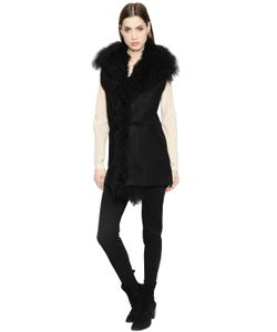 BELSTAFF AND LIV TYLER | Shearling Vest