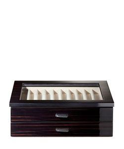 AGRESTI | Polished Ebony Wood Pen Box