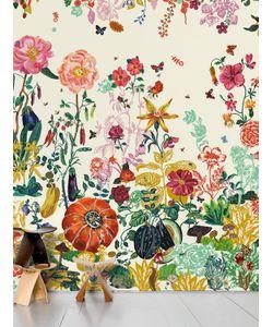 DOMESTIC   Jardin Creme Printed Wallpaper