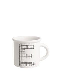 ILARIA.I | Letter E Porcelain Mug