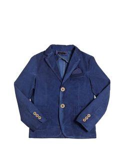 TAGLIATORE JUNIOR | Stretch Cotton Sateen Jacket
