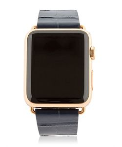 Hadoro | 42mm Rose Gold Apple Watch W/ 3 Band Set