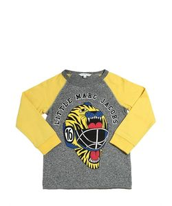 Little Marc Jacobs | Tiger Helmet Print Cotton Jersey T-Shirt