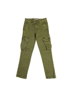 NUPKEET | Stretch Cotton Gabardine Cargo Pants
