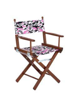 ADOLFO CARRARA | Camouflage Directors Chair