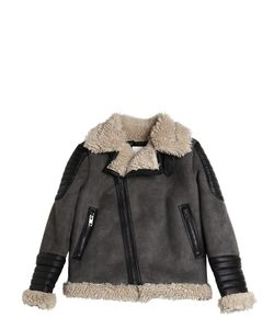 Diesel Kids | Faux Shearling Faux Suede Jacket